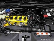 Spoon Sports yellow turbo valve cover